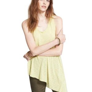 We the Free by Free People asymmetrical tank large